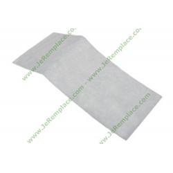 Filtre universel à découper 310x125 mm pour aspirateur