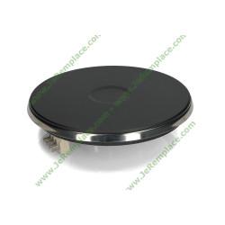 Plaque électrique à cosses 1500 watts Diamètre encastrement 180 cm