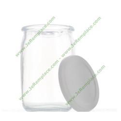 SA-989641 Pot en verre pour yaourtière seb appareil à yaourt Tefal