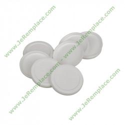 Couvercle blanc SS-989691 pour pot de yaourtière