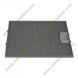 filtre métalique 00353110 pour hotte bosh siemens