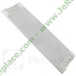 filtre rectangulaire métallique 50263849007 pour hotte electrolux