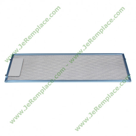 4055344149 filtre rectangulaire métallique pour hotte electrolux