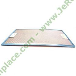 filtre rectangulaire métallique 93953438 pour hotte