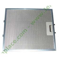 filtre carré métallique 480122102168 pour hotte