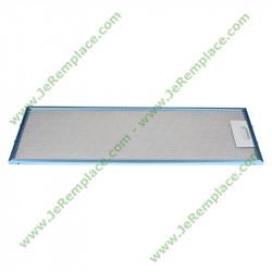 filtre rectangulaire métallique 481248058305 pour hotte