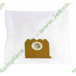 1 Sac à poussière en micro-fibres T65 pour aspirateur