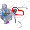 Régulateur de pression 44130000 pour centrale vapeur karcher