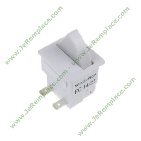 Interrupteur lumière 481010398859 pour réfrigérateur