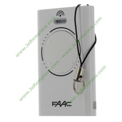 XT4 868 SLH Télécommande 4 touches Blanc/Noir pour portail Faac