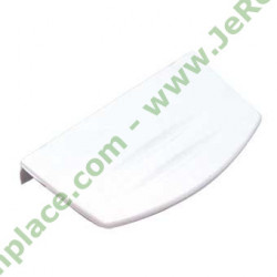 Poignée porte blanche 4244570100 pour réfrigérateur beko