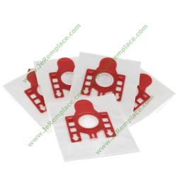 Sachet de 5 sacs à poussière en micro fibres 9917710 Miele pour aspirateur