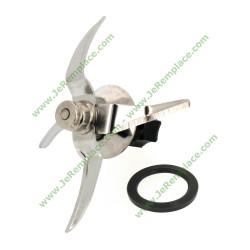 couteau adaptable 49106 pour robot thermomix TM5