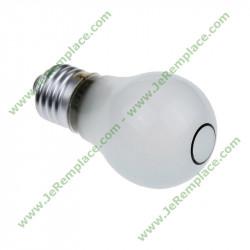 Ampoule 480132100815 pour réfrigérateur Américain E27 220 Volts