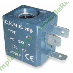 Bobine electrovanne CEME cv 4 watts