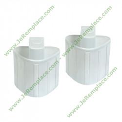 2 cartouches anti-calcaire XD9070E0 pour fer à repasser