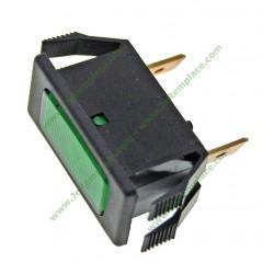Voyant rectangle vert de congélateur 41X7412 41X5697 brandt vedette