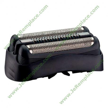 Kit cassette de rasage grille et lame 81633296 pour rasoir Braun