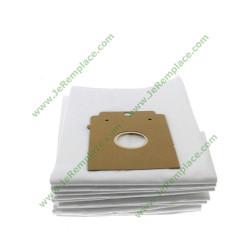 Sachet de 10 sacs à poussière microfibres 00468265 pour aspirateur