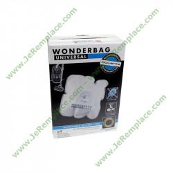 4 sacs aspirateur wonderbag WB484720 ALLERGY CARE