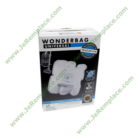 WB484720 5 sacs aspirateur wonderbag ALLERGY CARE