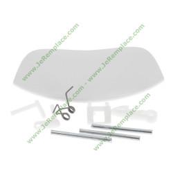 Kit poignée de porte blanc 42038993 pour lave linge vestel