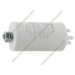Condensateur permanent 16 micro-Farads 450 Volts pour moteur