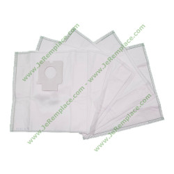 5 sacs à poussières en micro fibres 2702 pour aspirateur