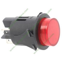 interrupteur bipolaire lumineux rouge