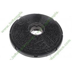 Filtre charbon rond 9197060046 pour hotte beko