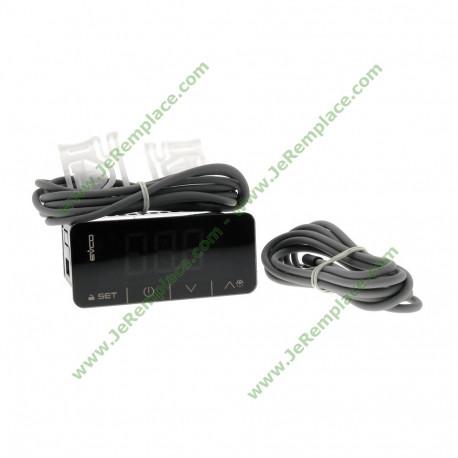 Thermostat numérique avec sonde EV3B23N7 230V pour chambre froide