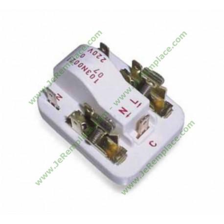 Starter relais de compresseur réfrigérateur ou congélateur 103n0021 universel