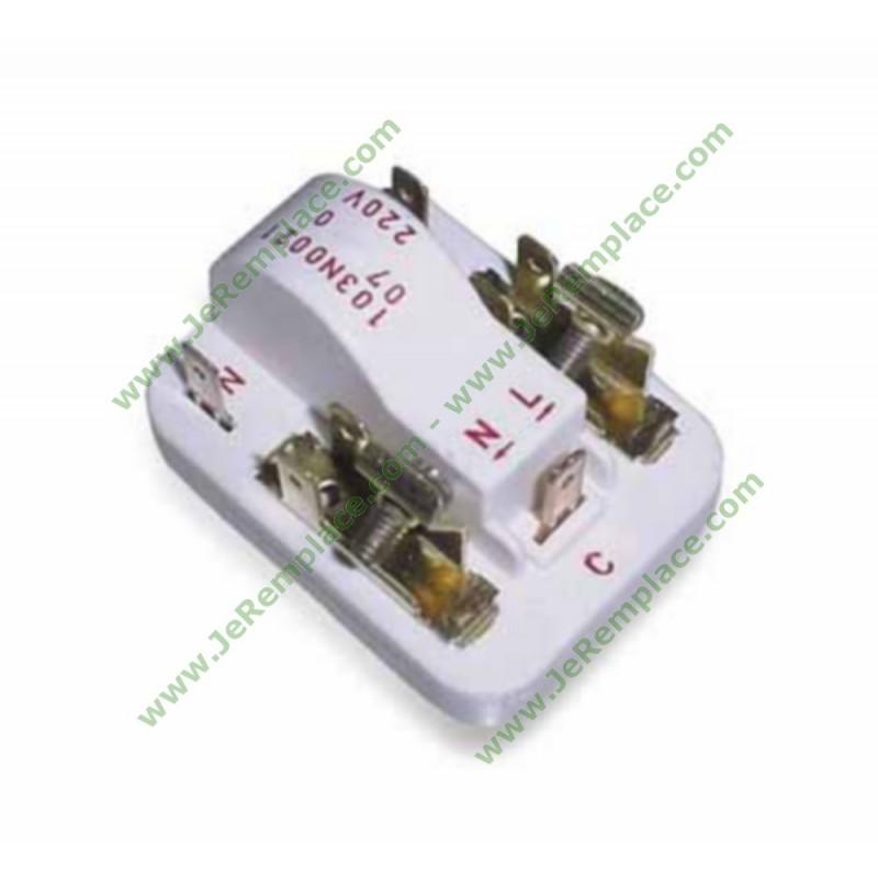 Réfrigérateur congélateur froid danfoss 103n0011 de relais