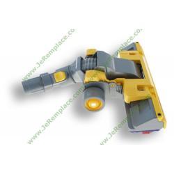 90448601Combiné brosse jaune roulettes aspirateur dyson Combi DC08