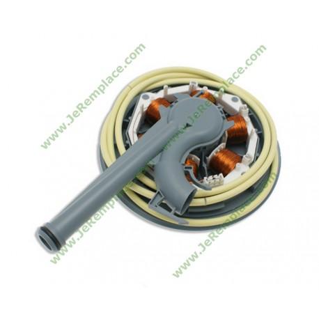 Enssemble moteur lave vaisselle whirlpool à tiroir 481290318941