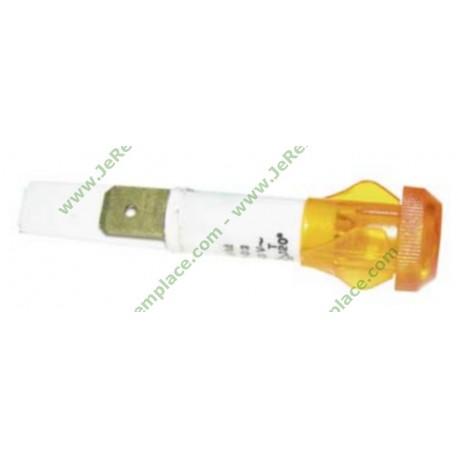 3427626027 Voyant orange diamètre 10mm à cosses pour table de cuisson