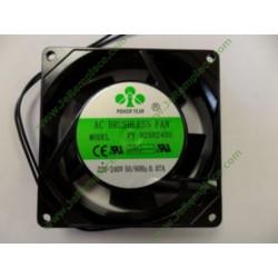 Ventilateur hélicoïde 15 watts pour réfrigérateur ou congélateur