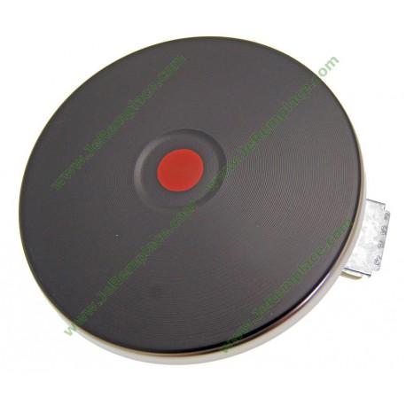 Plaque électrique 2000 Watts diamètre encastrement 180 mm extérieur 196 mm