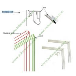 Kit joint 700X1300 mm profil talon pour réfrigérateur Congélateur