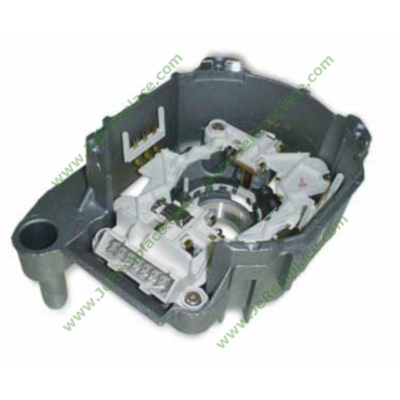 00496872 capot moteur avec charbon 00092025 pour lave linge bosch