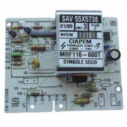 55x5738 Carte électronique MRF116-600T pour lave linge
