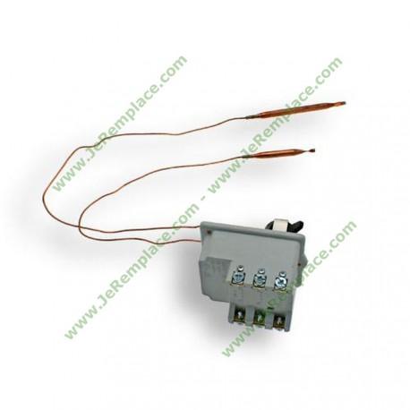 Thermostat triphasé type BTS Cotherm avec 2 bulbes pour chauffe eau