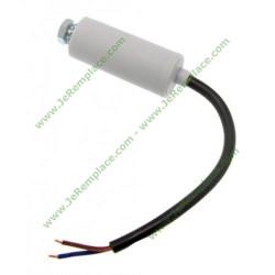 Condensateur permanent 50 Micro farads avec fils pour moteur