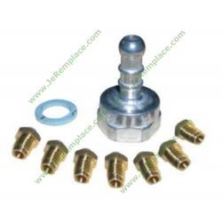Injecteur gaz butane propane 4071363214 table de cuisson electrolux aeg