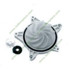 720053900 Kit turbine et flasque pour pompe de lave vaisselle