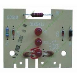 31x5412 Carte affichage led pour lave vaisselle