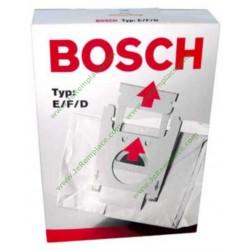 00461408 Boite de sacs à poussière type E.F.D pour aspirateur bosch