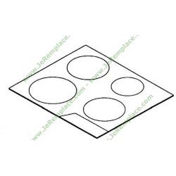 table verre pour plaque induction achat vente de table verre. Black Bedroom Furniture Sets. Home Design Ideas