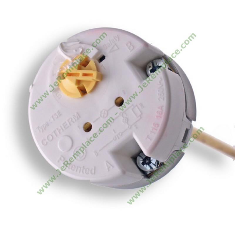 thermostat de chauffe eau embrochable cotherm tse00014 bulbe 450 mm. Black Bedroom Furniture Sets. Home Design Ideas