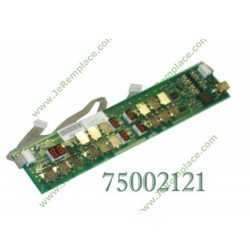 CARTE DE CLAVIER 7500-2121 - XZ5B00012 induction 72X7492 brandt sauter